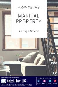 marital property division in divorce