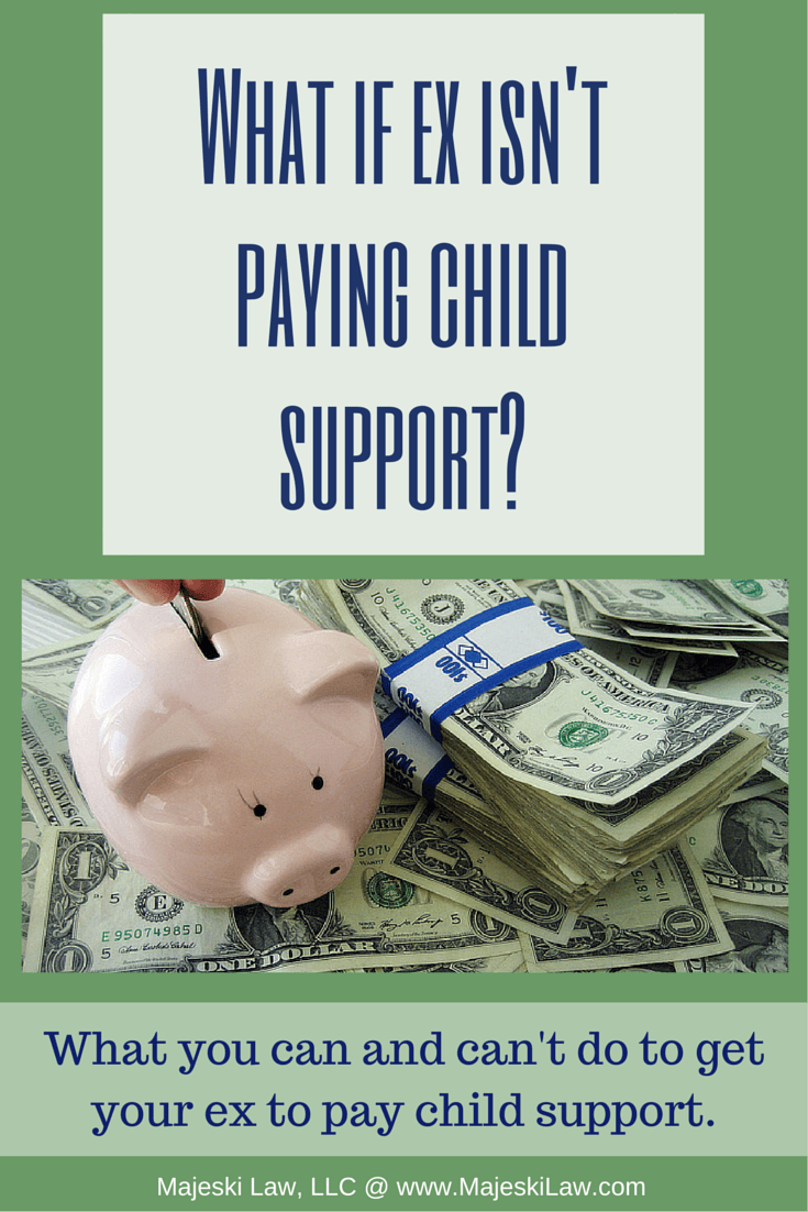 ex isn't paying child support