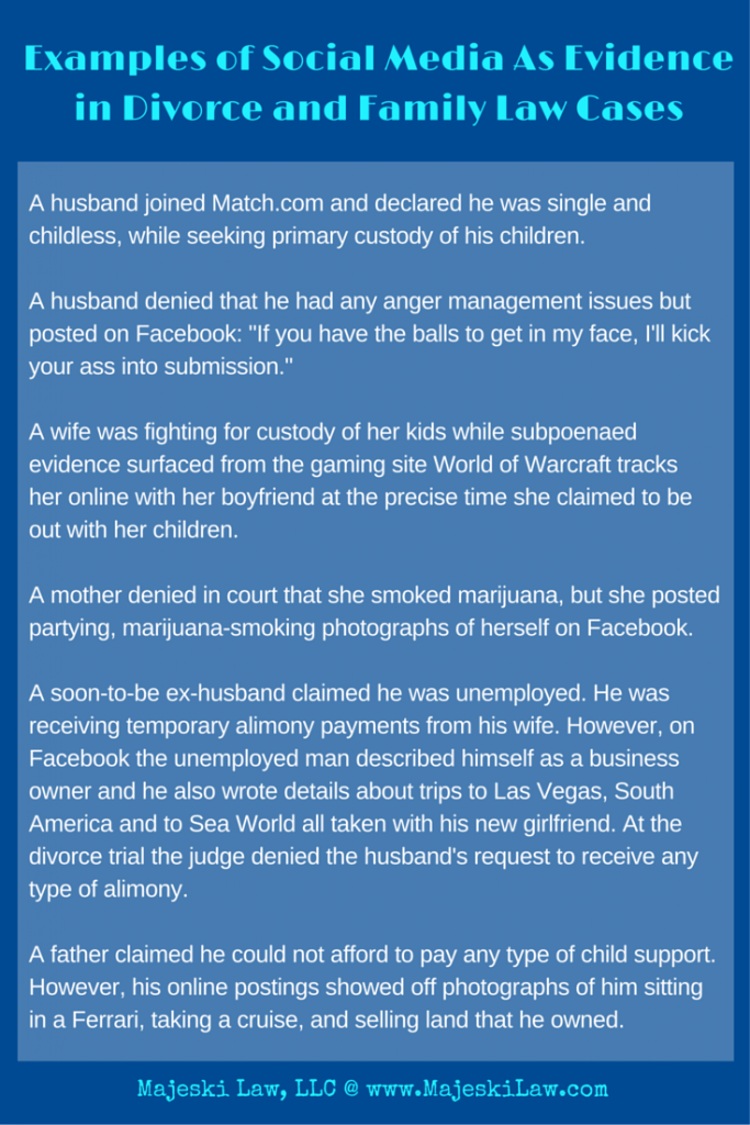 Facebook and Divorce