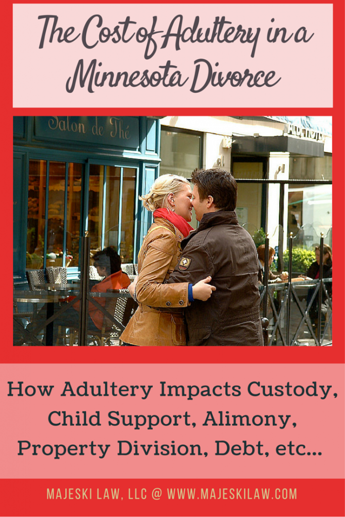 Adultery: What Infidelity Costs in a Minnesota Divorce