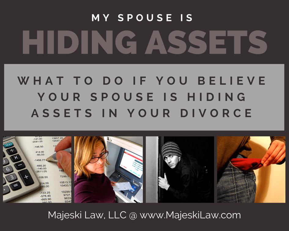 hiding assets