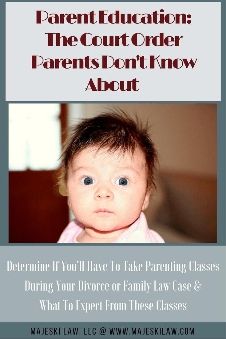 Parent Education Program in Minnesota Family Law Cases