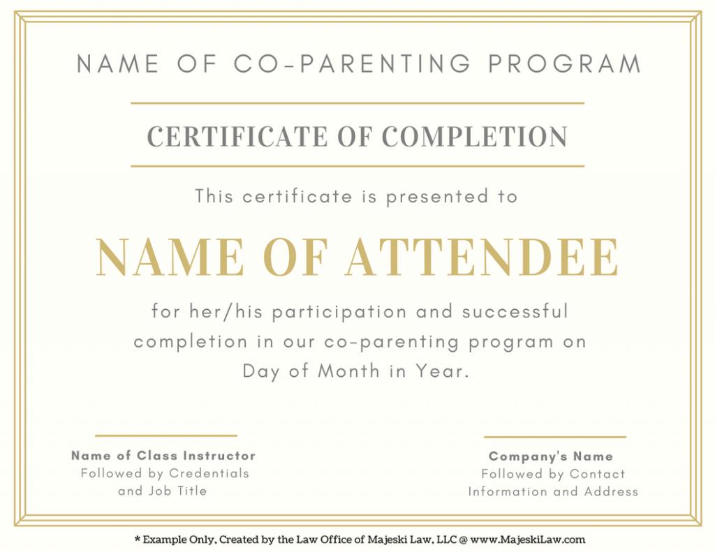 co-parenting class