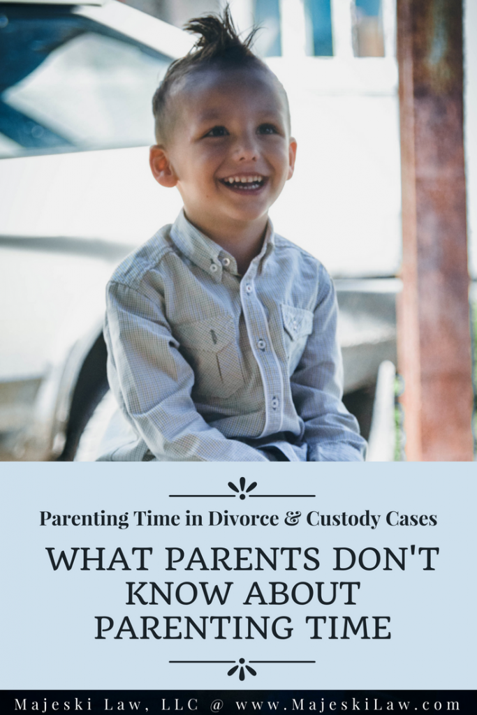 Parenting Time in Minnesota - What Parents Don't Know
