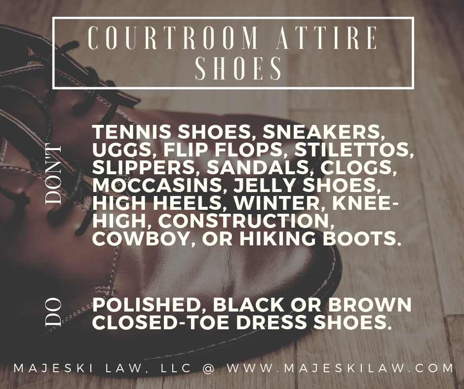 court attire shoes