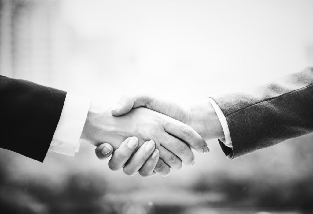 Shaking Hands for Services