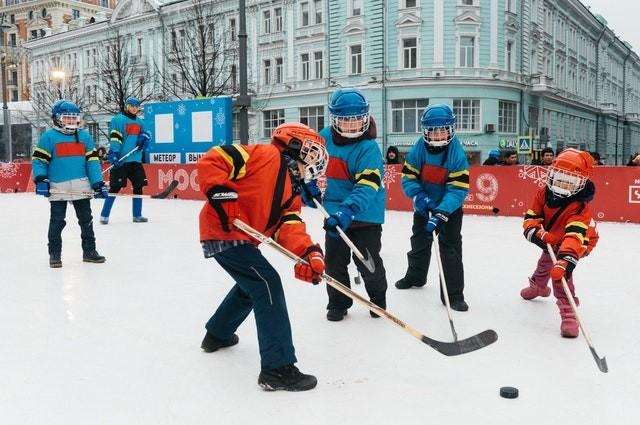 Child Support - Children Playing Hockey